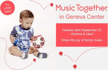 Family music and dance class - 0 to 5 years old